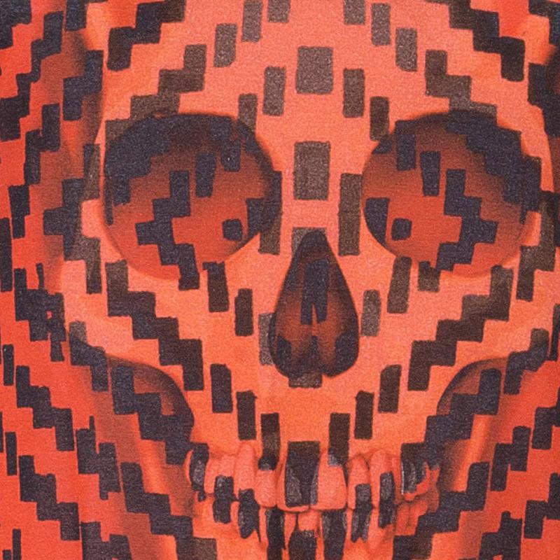 Alexander McQueen Red Skull Tank Top S