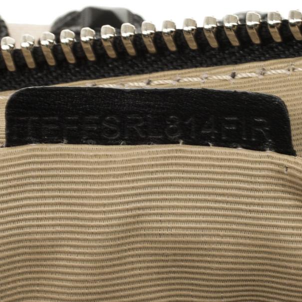 Burberry Long 'Nova Check' Checked Studded Clutch