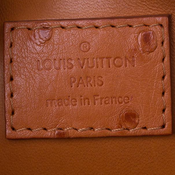 Louis Vuitton Autruche Pigment Alma BB