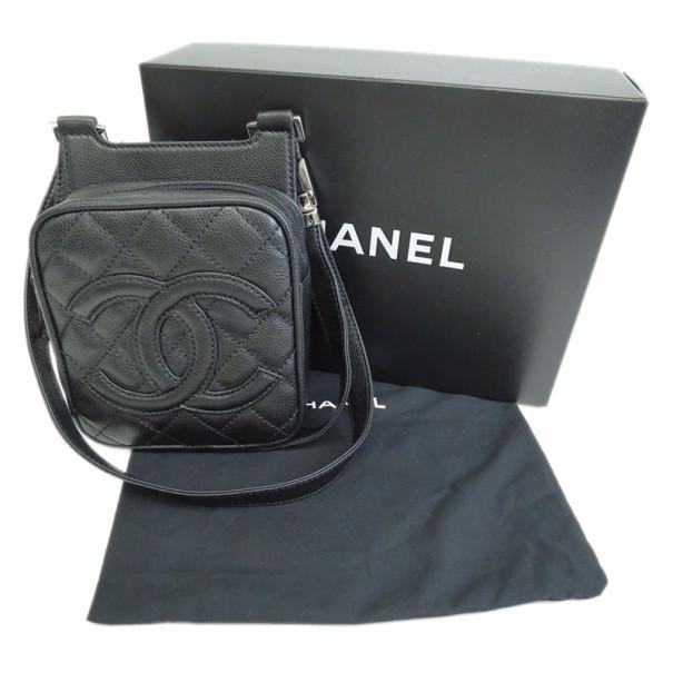 Chanel Black Caviar CC Mini Backpack