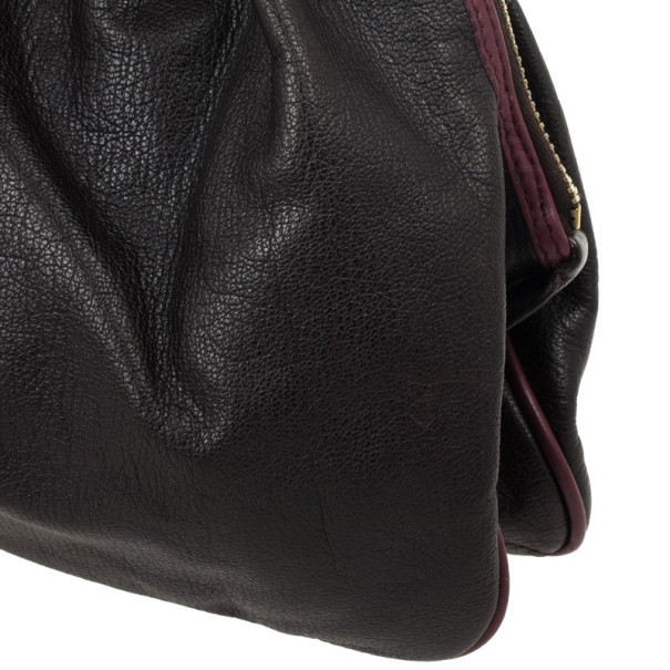 Marc Jacobs Black Leather Lou Bag