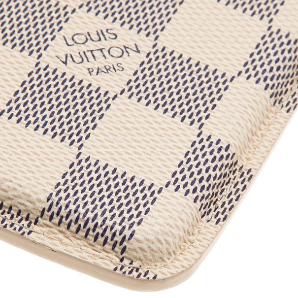 Louis Vuitton Damier Azure Canvas iPhone 5 Case