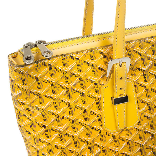 Goyard Yellow Okinawa PM Tote