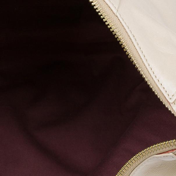 Chloe Gold Leather Large Ethel Hobo