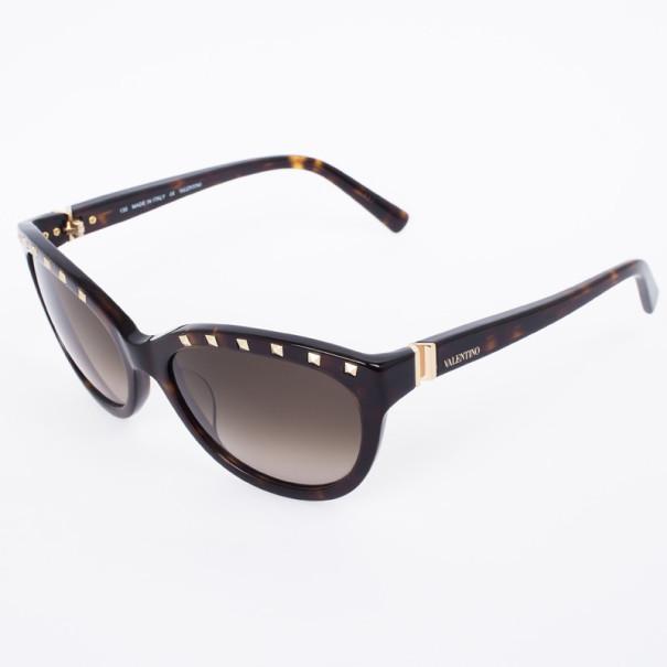 Valentino 622S Studded Cat Eye Womens Sunglasses