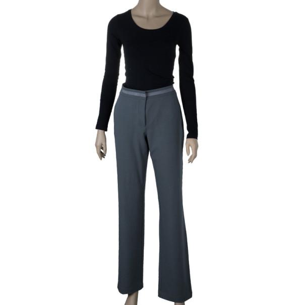 Emporio Armani Grey Formal Trousers M