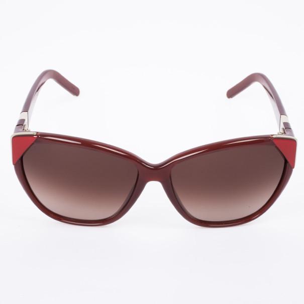 Chloe Bordeaux 600S Cat Eye Women's Sunglasses