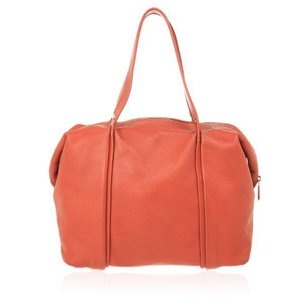 Furla Red Leather Medium Hobo