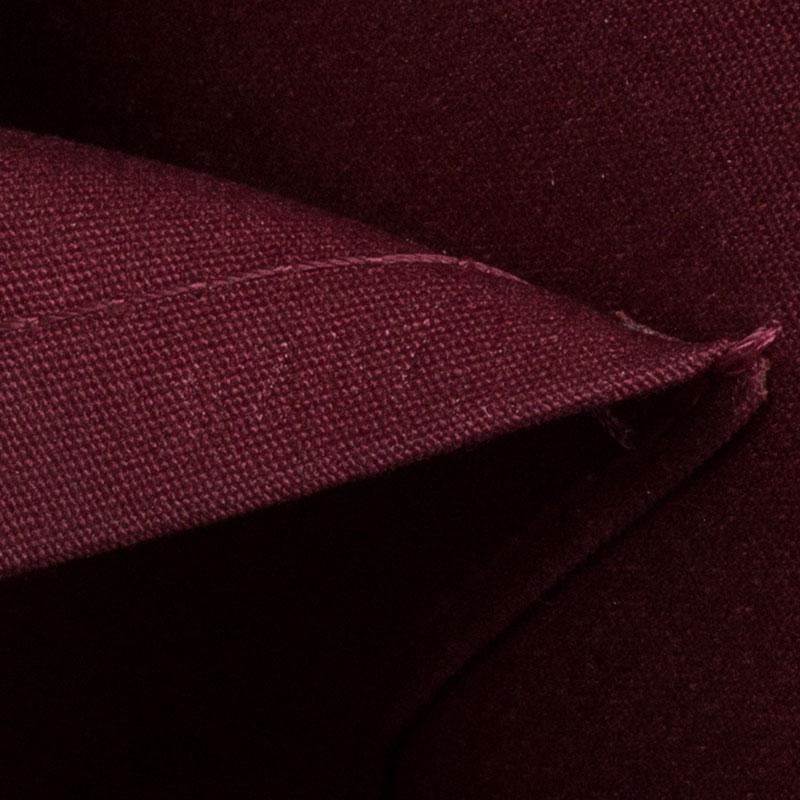 Louis Vuitton Red Monogram Vernis Alma GM Bag