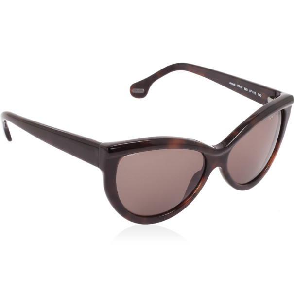 Tom Ford Brown Anouk Cat Eye Woman Sunglasses