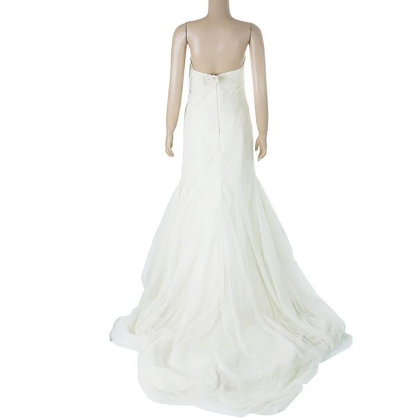 Vera Wang Twirl Tulle Wedding Dress L