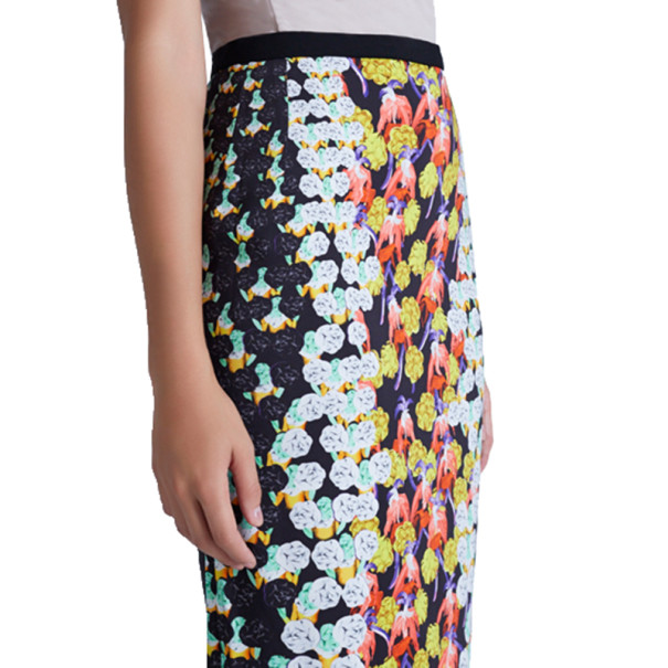 Peter Pilotto Erin Printed Pencil Skirt M
