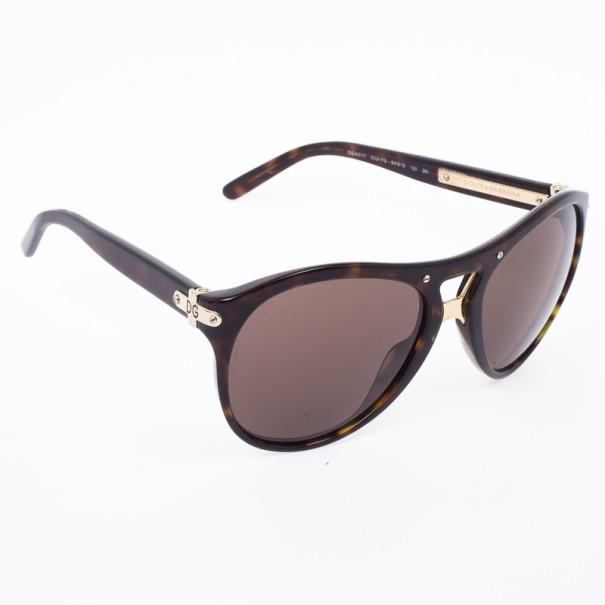 Dolce and Gabbana Tortoise Frame Womens Sunglasses