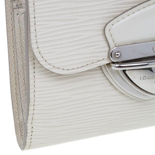 Louis Vuitton White Epi Joey Wallet