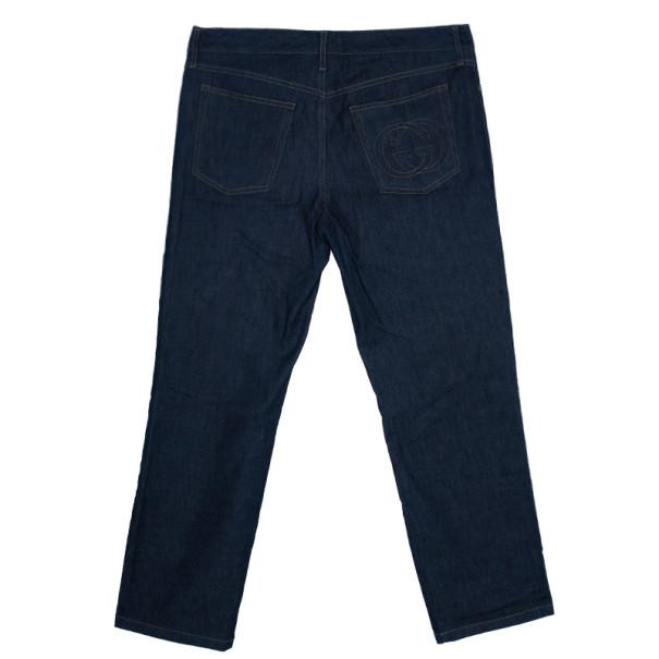 Gucci Dark Blue Denim Jeans L