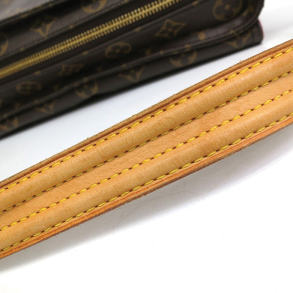 Louis Vuitton Monogram Viva Cite MM Shoulder Bag
