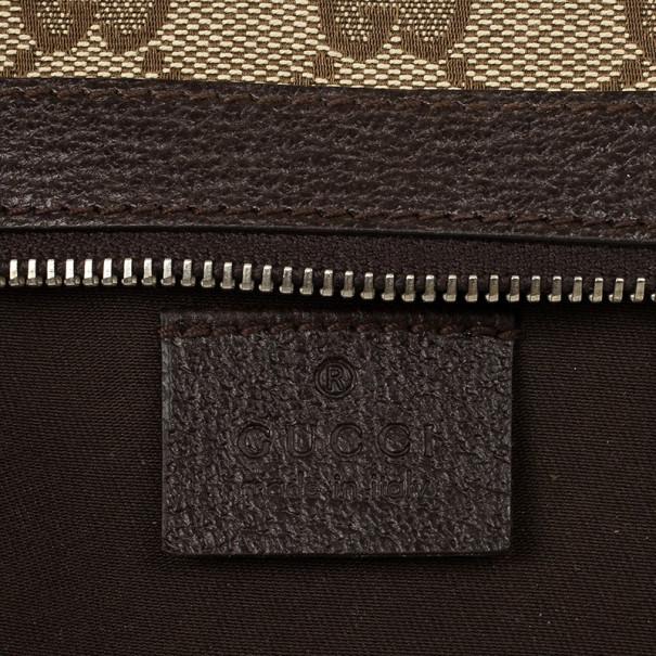 Gucci Beige Monogram Coin Purse
