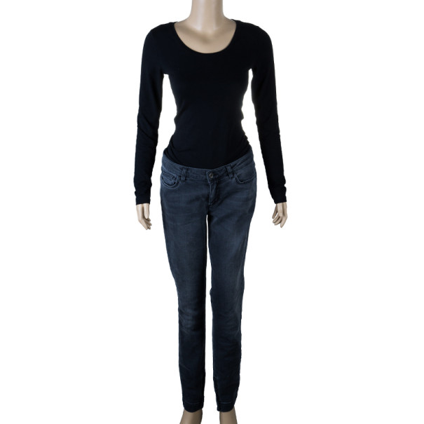 Dolce and Gabbana Black Denim Jeans M