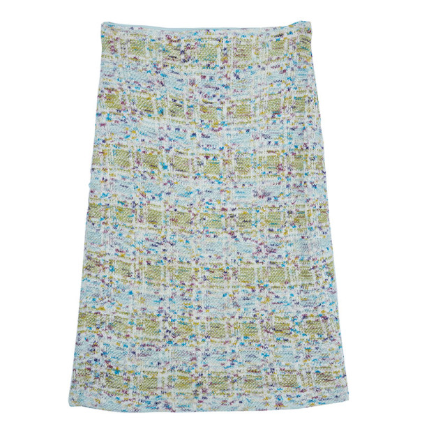 St. John Couture Tweed Skirt S