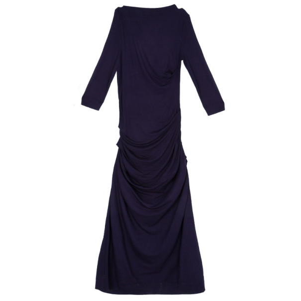Vivienne Westwood Purple Draped Dress S