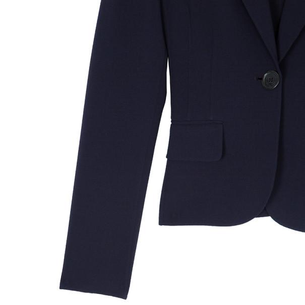 Michael Kors Plum Wool Dress Suit S