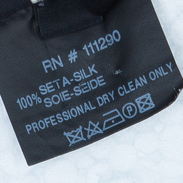 Derek Lam Off-White Silk Top M