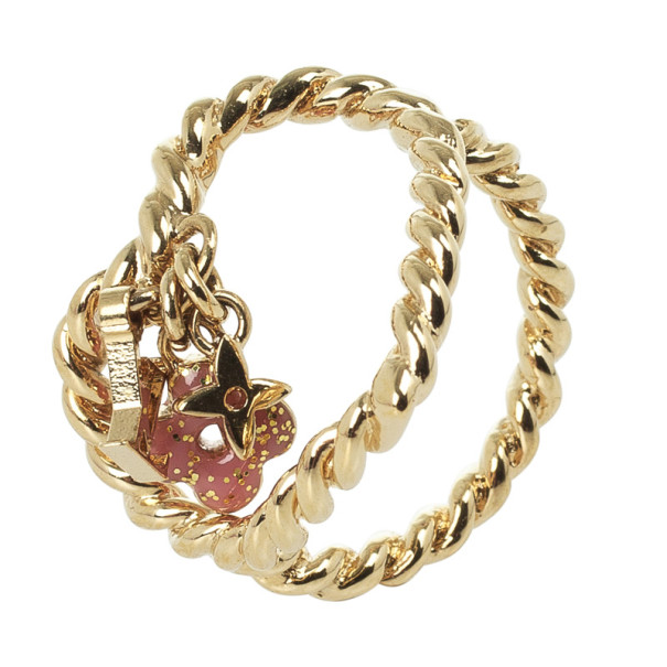 Louis Vuitton Sweet Monogram In My Heart Ring Size 50