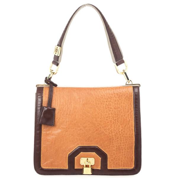 Tory Burch Brown Bond Shoulder Bag