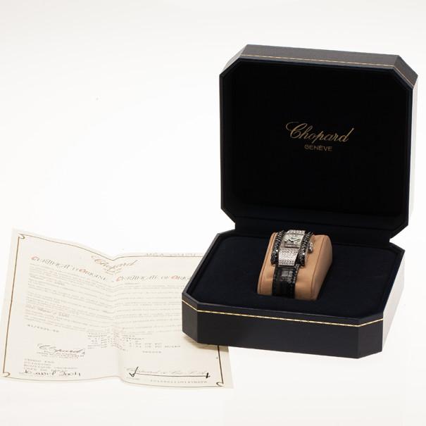 Chopard White Stainless Steel La Strada Women's Wristwatch 24MM