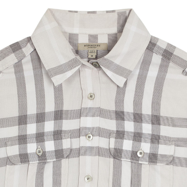 Burberry Button Up Shirt Top M