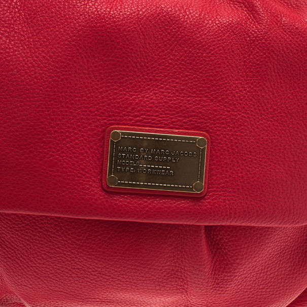 Marc by Marc Jacobs Pink Leather Little Ukita