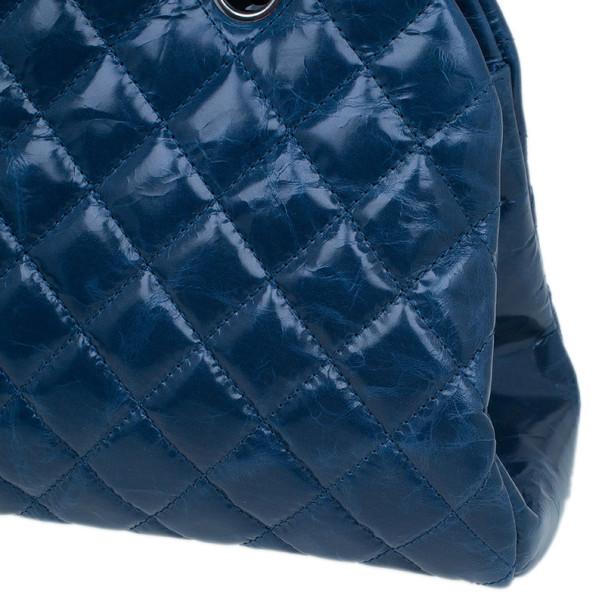 Chanel Turquoise Calfskin Medium Just Mademoiselle Shoulder Bag