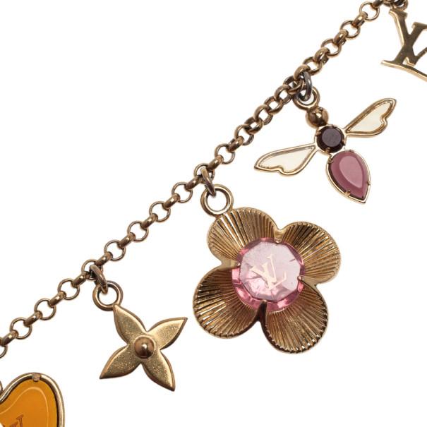 Louis Vuitton Fleur Bee Bag Charm