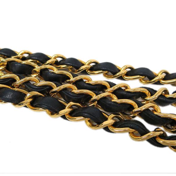 Chanel Black Lambskin Single Flap Bag Shoulder Bag