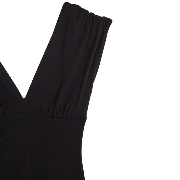 Diane von Furstenberg Purple Knee Length Cotton Mula Dress M