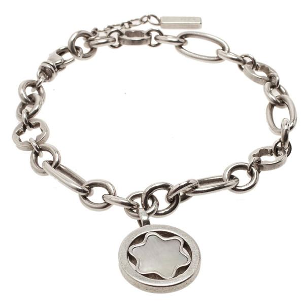 MontBlanc Star Signet Silver Bracelet