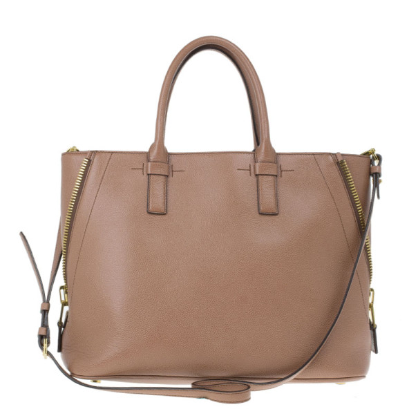 Tom Ford Pink Leather Jennifer Tote