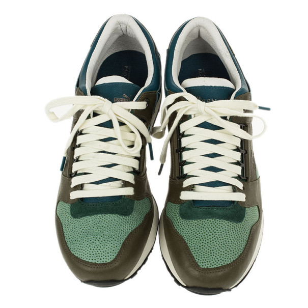 Alexander McQueen for Puma Tri Color Ruffien Sneakers Size 42