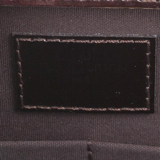 Louis Vuitton Amarante Monogram Vernis Deesse Tote