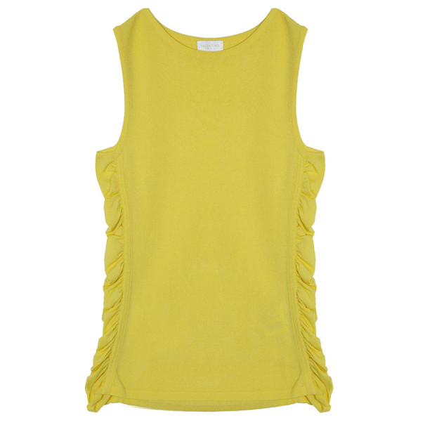 Valentino Yellow Top M