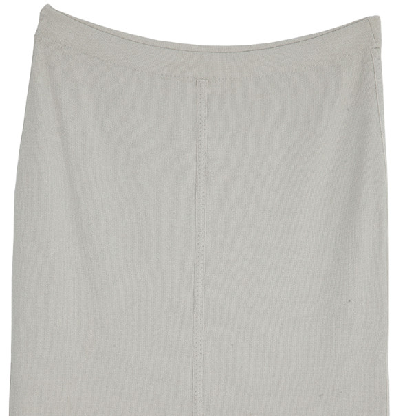 Donna Karan Grey Tube Skirt S