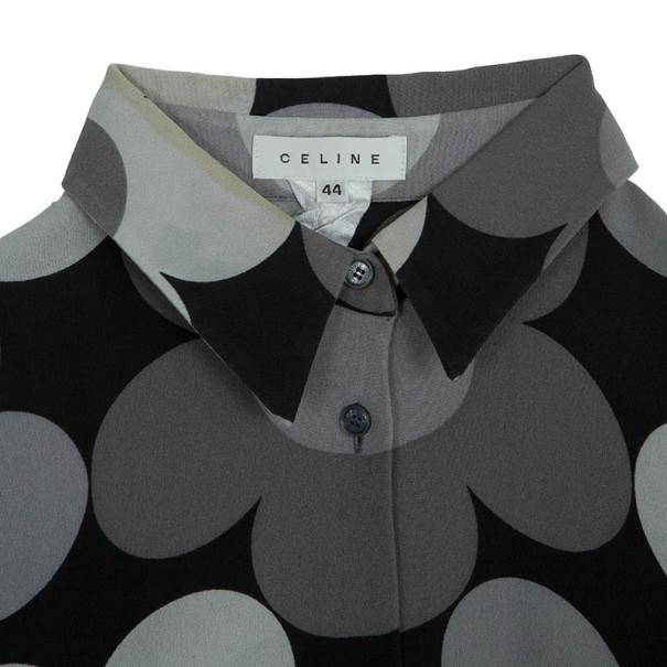 Celine Floral Shirt Dress L