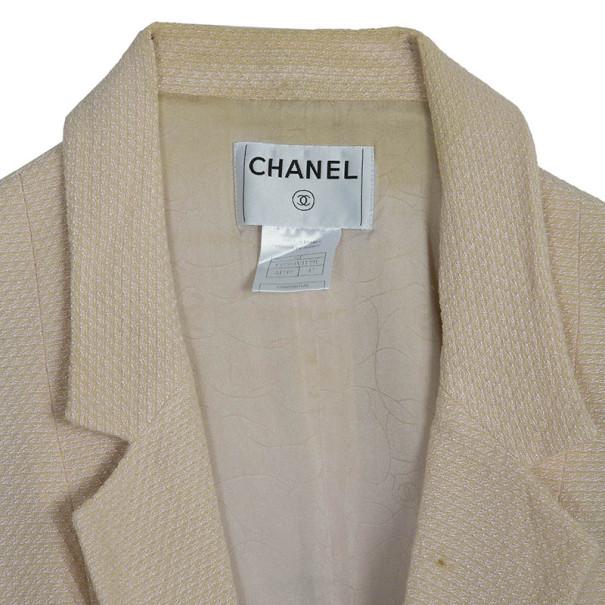 Chanel Light Pink Blazer L