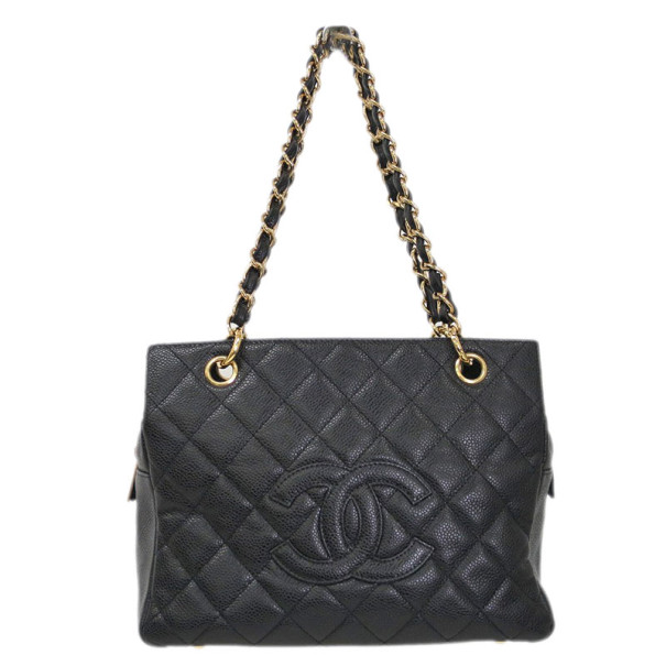 Chanel Back Caviar Timeless Shopper Tote