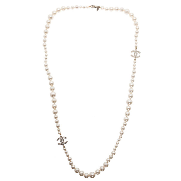 Chanel Timeless Classic Pearl Necklace