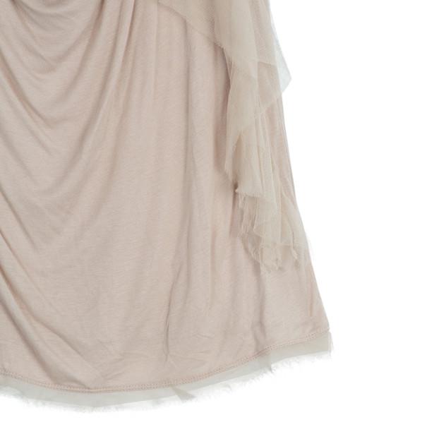 Valentino Flower Embellished Top S