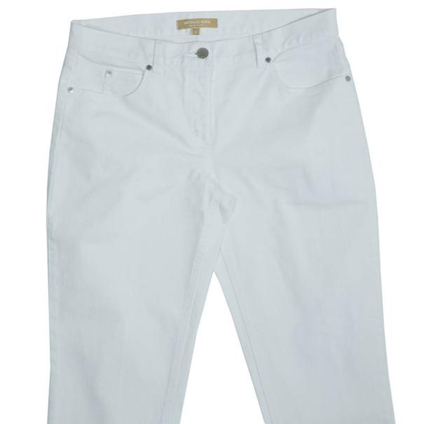 Michael Kors White Jeans M