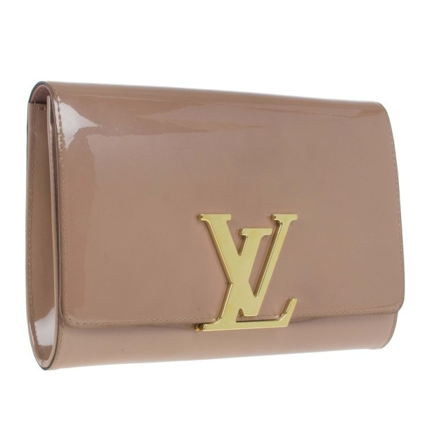 Louis Vuitton Monogram Vernis Neo Sobe Clutch
