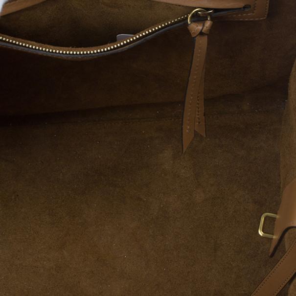 Celine Brown Mini Luggage Tote
