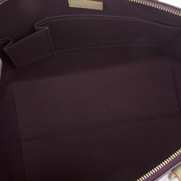 Louis Vuitton Violette Vernis Monogram Bellevue GM Tote